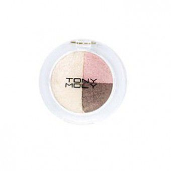 Party Lover Triple Dome Eye Shadow 02 Café Mocha