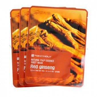 Natural Pulp Sheet Mask Red ginseng