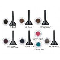 Backstage gel eyeliner 08 - khaki black