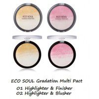Eco Soul Gradation Multi Pact 02 Highlighter&Blusher