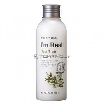 I'm Real Tea Tree Sebum & Pore Lotion