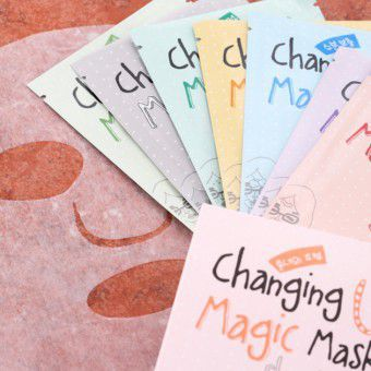 [Promo] Changing U Magic Mask Sheet Box