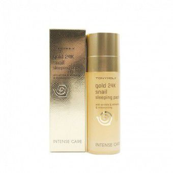 Gold 24K Snail Sleeping Pack