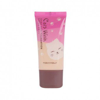 Cats Wink Shiny Skin Foundation 01