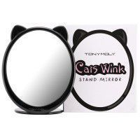 Cats Wink Stand Mirror
