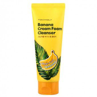 Magic Food Banana Cream Foam Cleanser