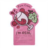 I'm Real Red Wine Mask Sheet