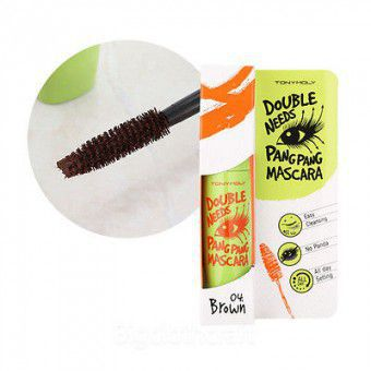 Double Needs Pang Pang Mascara 04 Brown