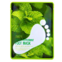 Fresh peppermint foot mask2