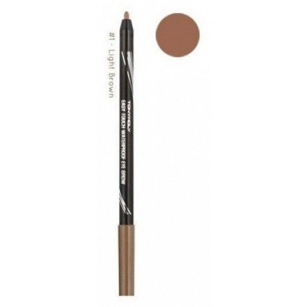 TonyMoly Easy Touch Waterproof Eye Brow 01 Light Brown