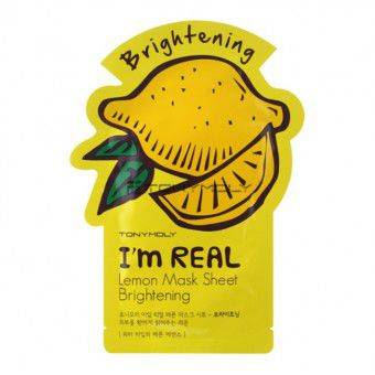 I'm Real Lemon Mask Sheet