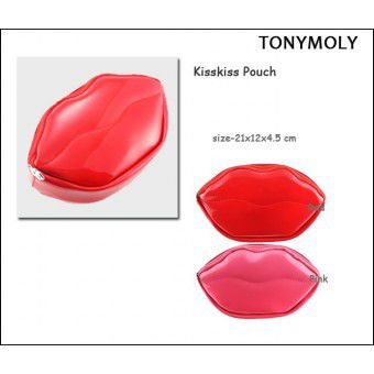 Kisskiss pouch Red